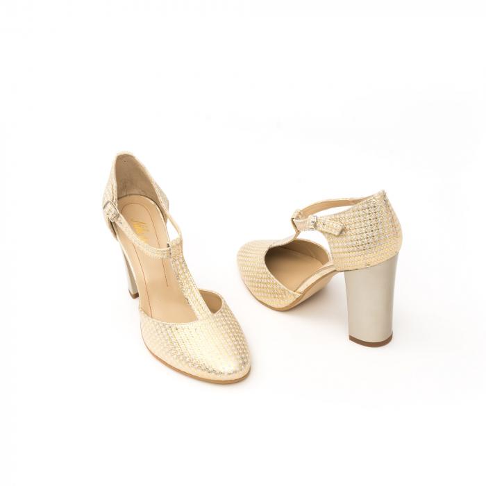 Decupat elegant dama 1041 auriu 2