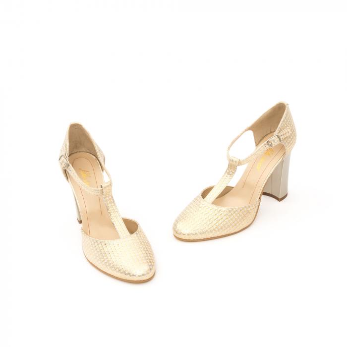 Decupat elegant dama 1041 auriu 1