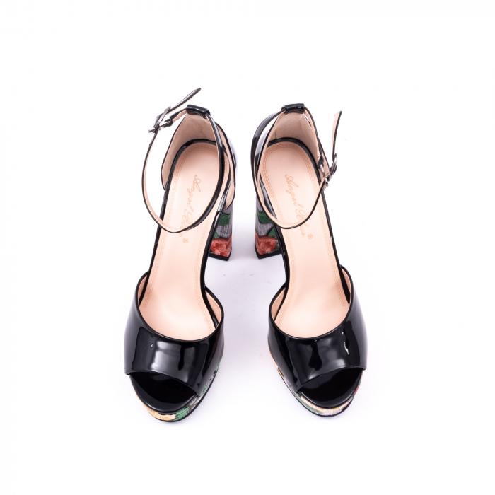 Decupate elegante dama 9509 negru 5
