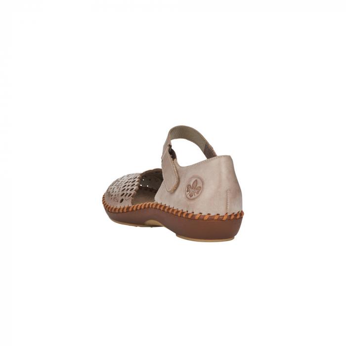 Pantofi de vara dama, piele naturala, M1656-62 2