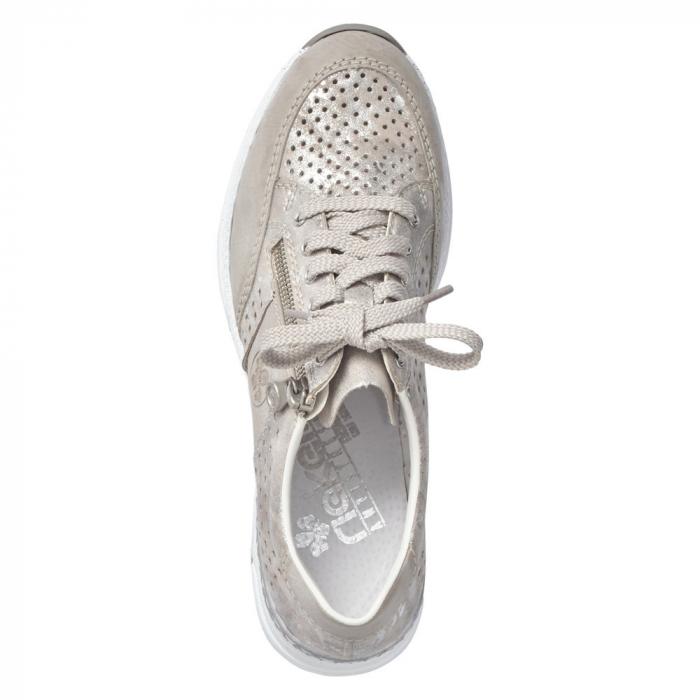 Pantofi dama casual din piele ecologica N4327-80 3