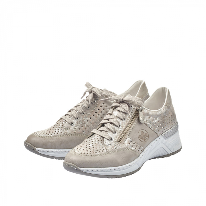 Pantofi dama casual din piele ecologica N4327-80 6
