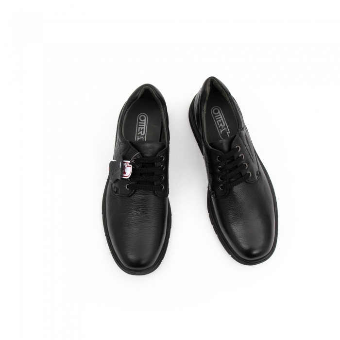 Pantofi barbati casual ,piele naturala Otter 2804, negru 5