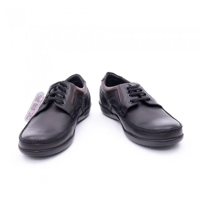 Pantof barbat marca OTTER OT 222 negru 3