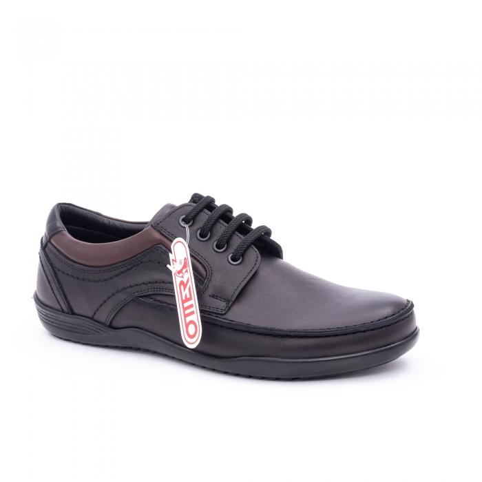 Pantof barbat marca OTTER OT 222 negru 0