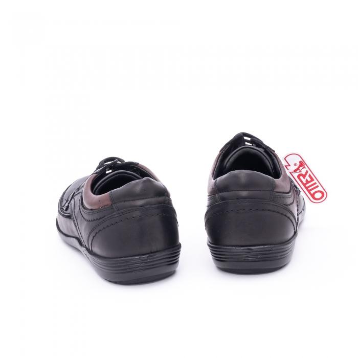 Pantof barbat marca OTTER OT 222 negru 4