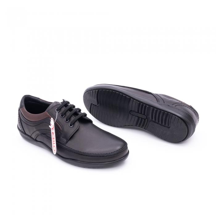 Pantof barbat marca OTTER OT 222 negru 2