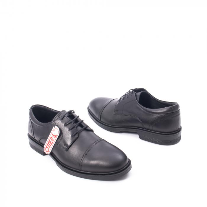 Pantofi barbati piele naturala Otter 5421, negru 1