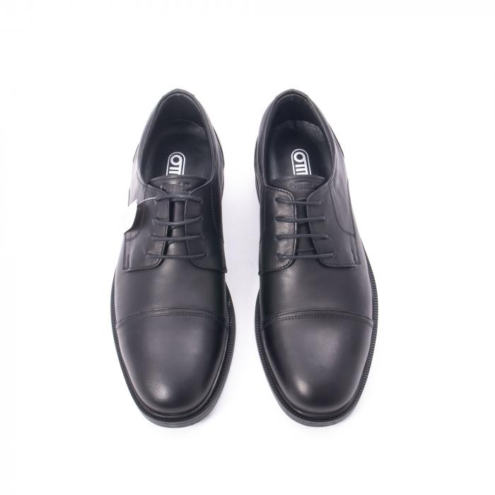 Pantofi barbati piele naturala Otter 5421, negru 2