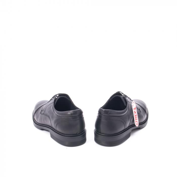 Pantofi barbati piele naturala Otter 5421, negru 4
