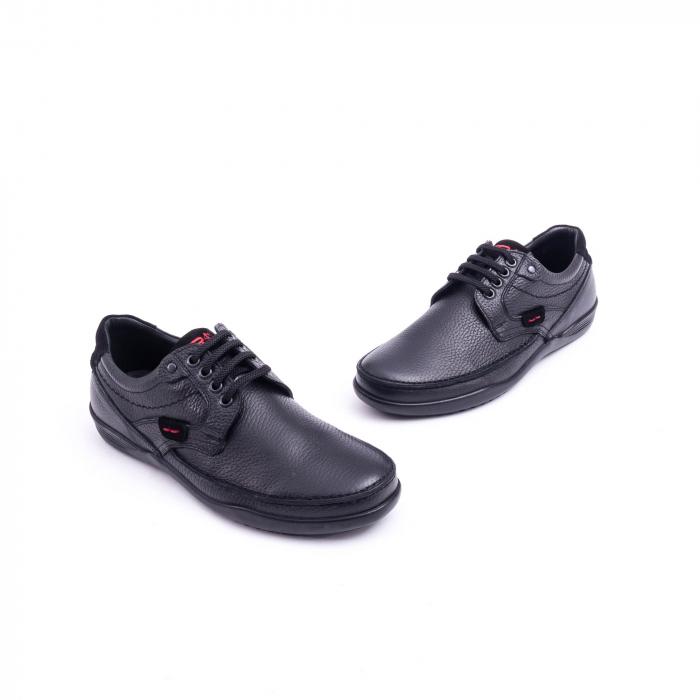 Pantof barbat Otter 217 negru 1