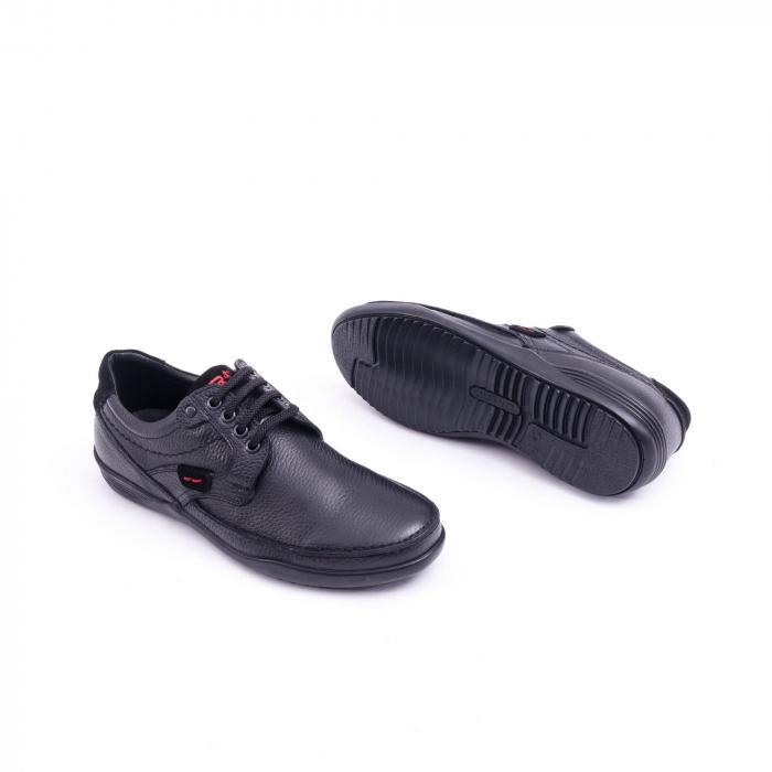 Pantof barbat Otter 217 negru 2