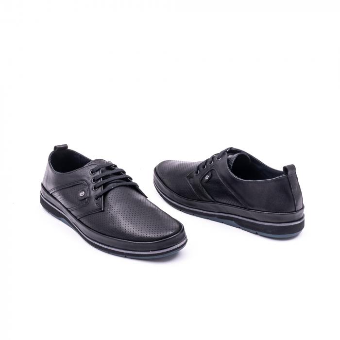 Pantof casual 191538 negru 3