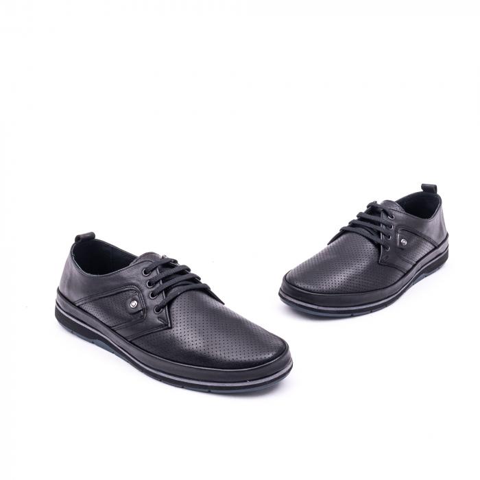 Pantof casual 191538 negru 1