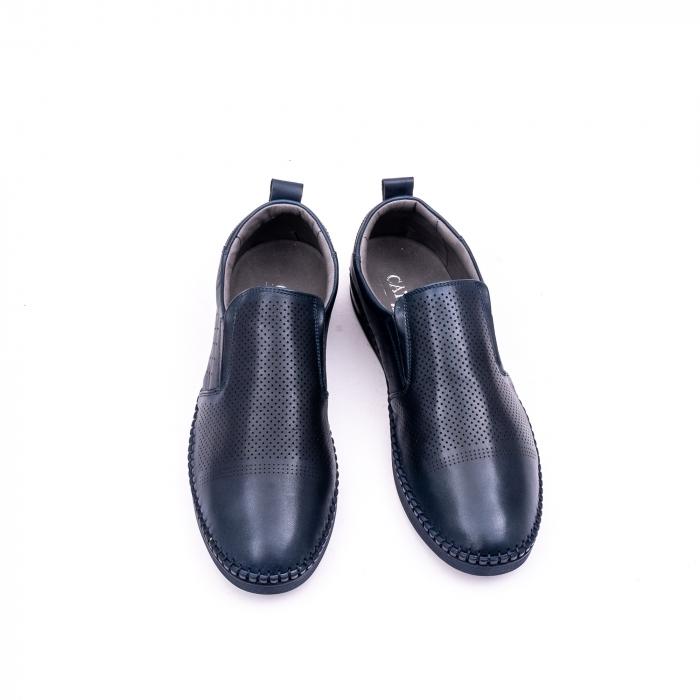 Pantofi barbati casual piele naturala Catali 191543, jeans 5