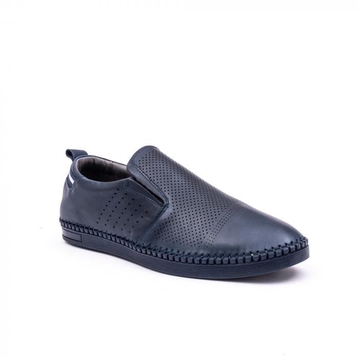 Pantofi barbati casual piele naturala Catali 191543, jeans 0