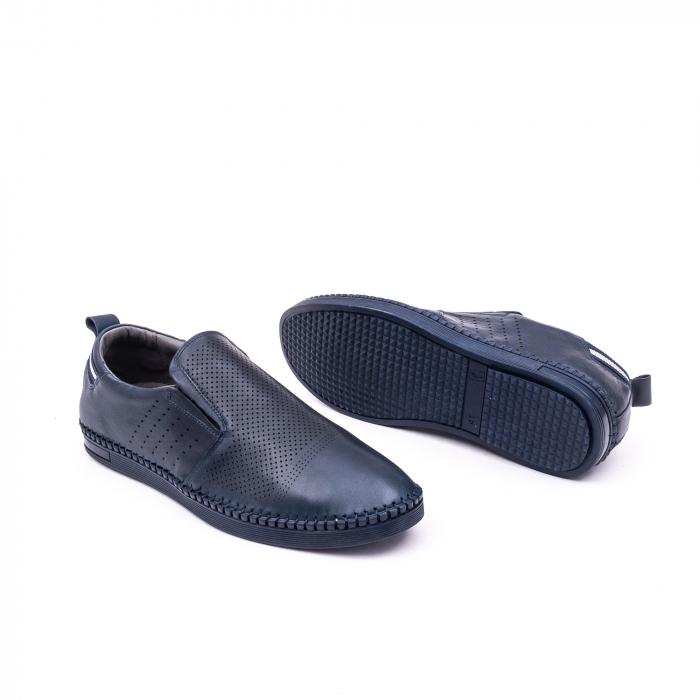 Pantofi barbati casual piele naturala Catali 191543, jeans 2