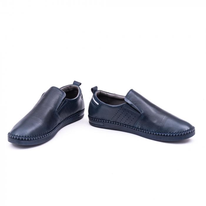 Pantofi barbati casual piele naturala Catali 191543, jeans 4