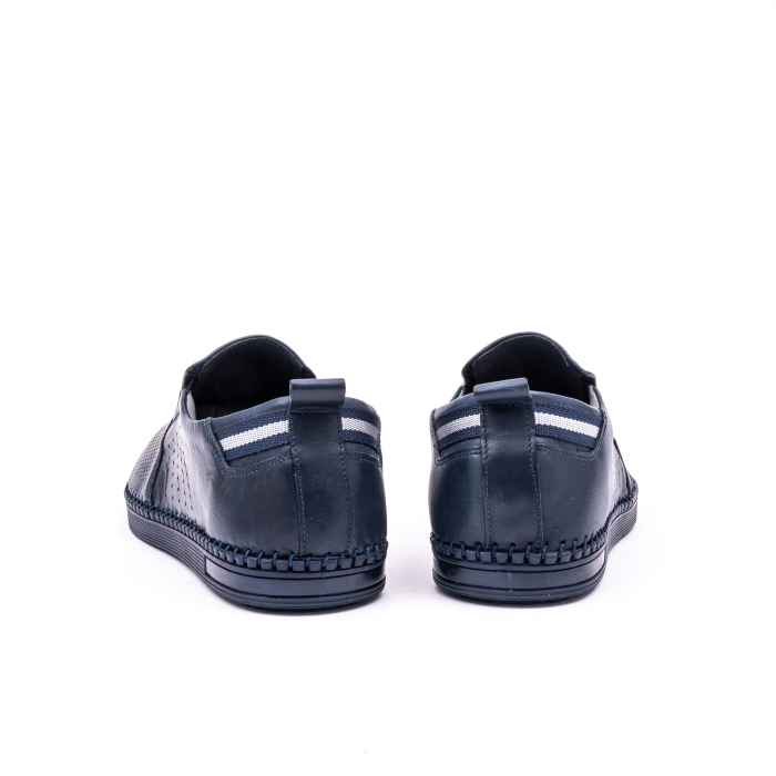 Pantofi barbati casual piele naturala Catali 191543, jeans 6