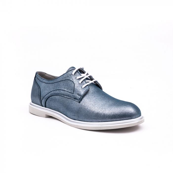 PantofI dama casual piele naturala, Catali-Shoes 191646, albastru 0