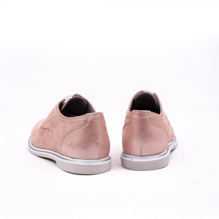 PantofI dama casual piele naturala, Catali-Shoes 191646, pudra 6