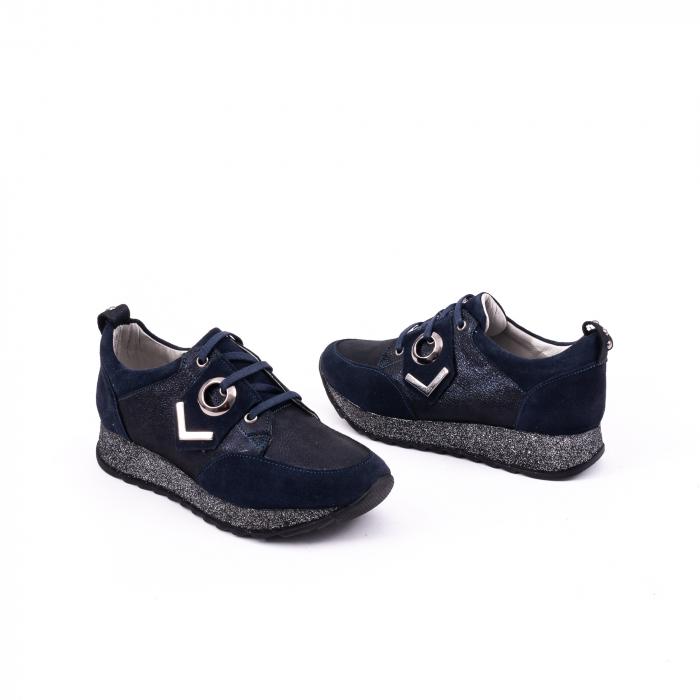 Pantof casual 191651 bleumarin 1