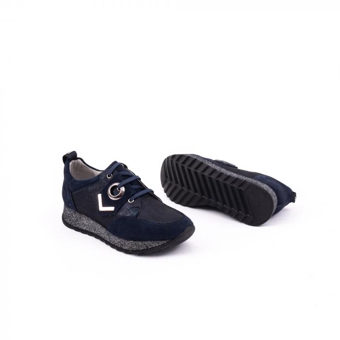 Pantof casual 191651 bleumarin 2