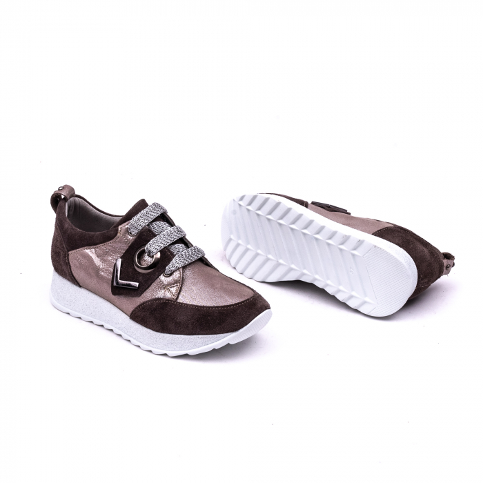 Pantof casual 191651 taupe 2