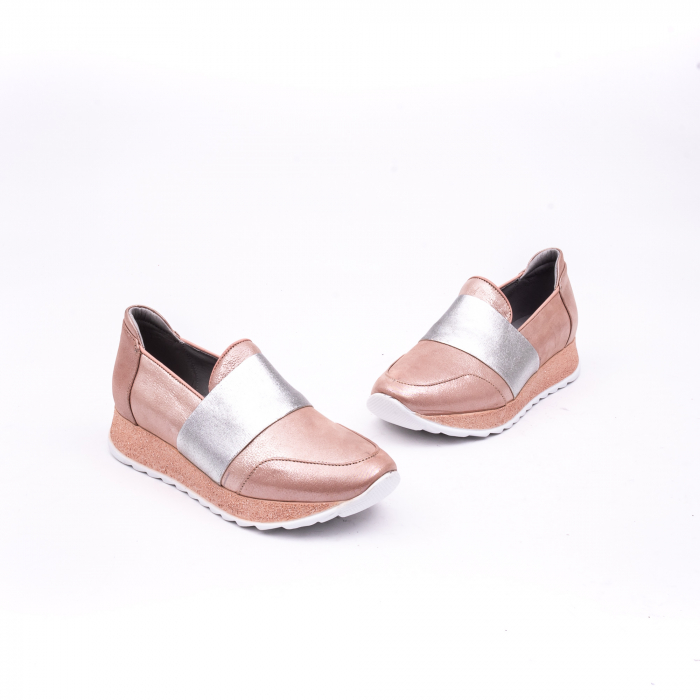 Pantof casual Catali 191652 pudra 1