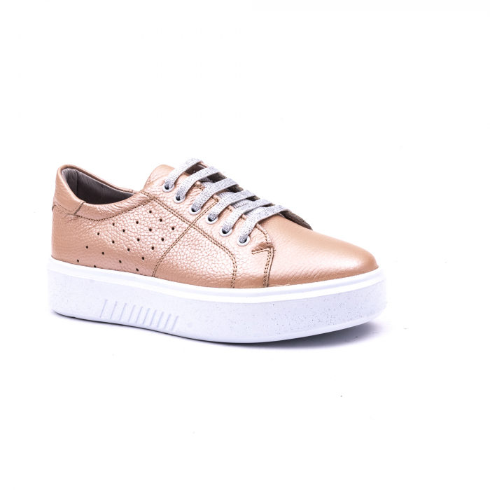 Pantof casual 191653 pudra 0