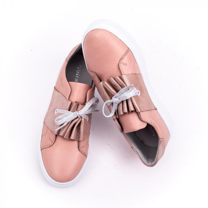 Pantof casual Catali 191654 pudra 5