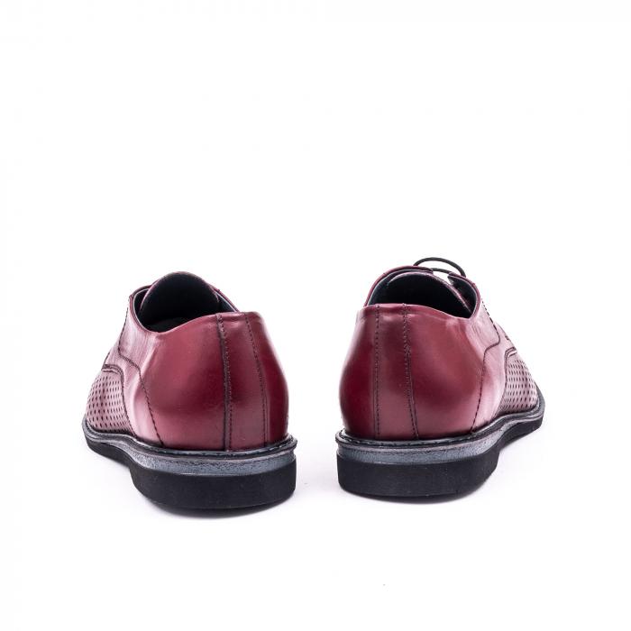 Pantof casual barbat 181591 bordo 6