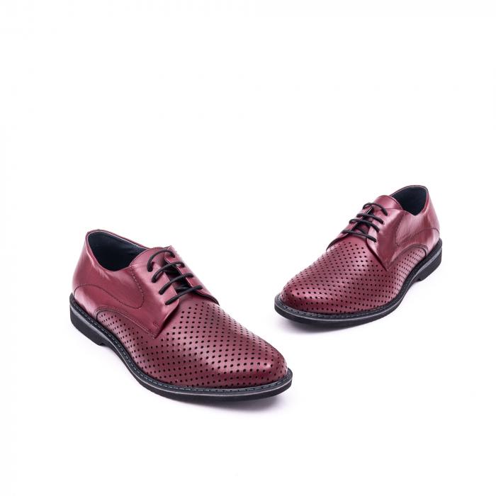Pantof casual barbat 181591 bordo 1