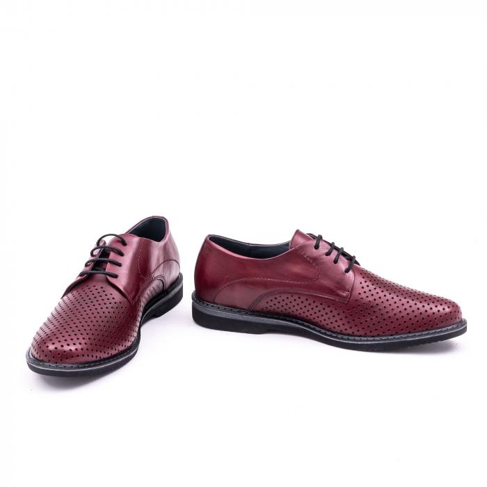 Pantof casual barbat 181591 bordo 4