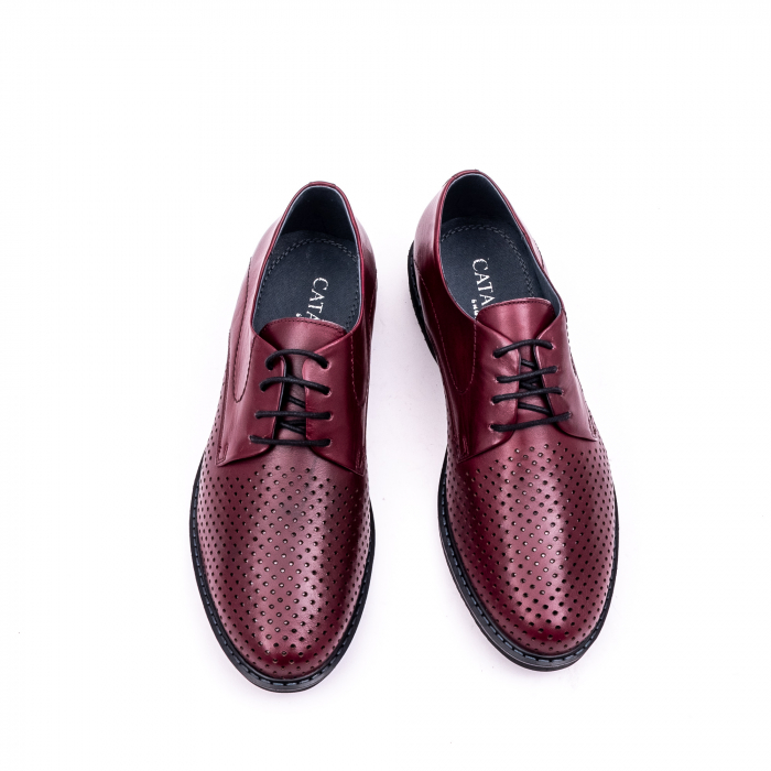 Pantof casual barbat 181591 bordo 5