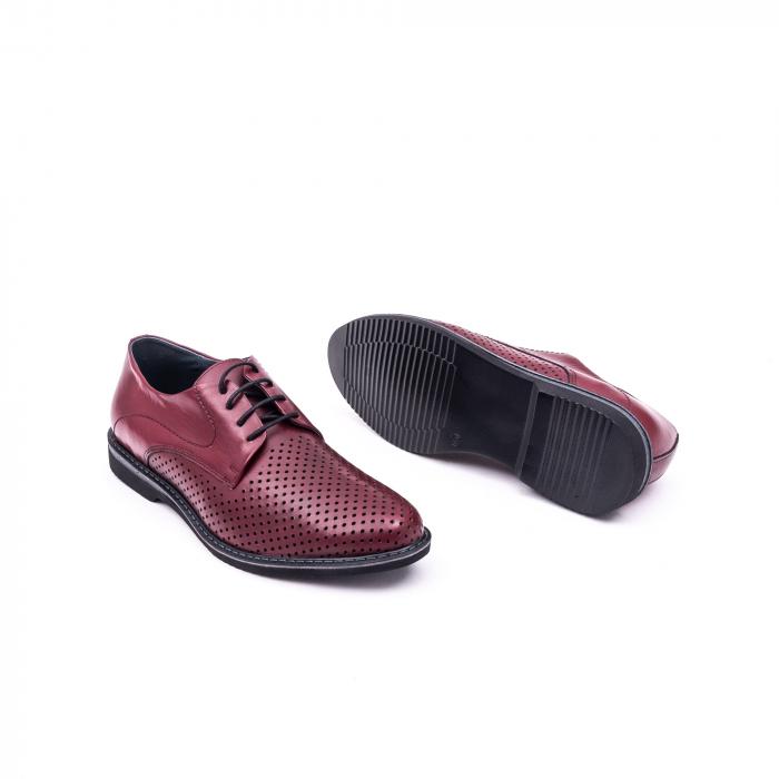 Pantof casual barbat 181591 bordo 2
