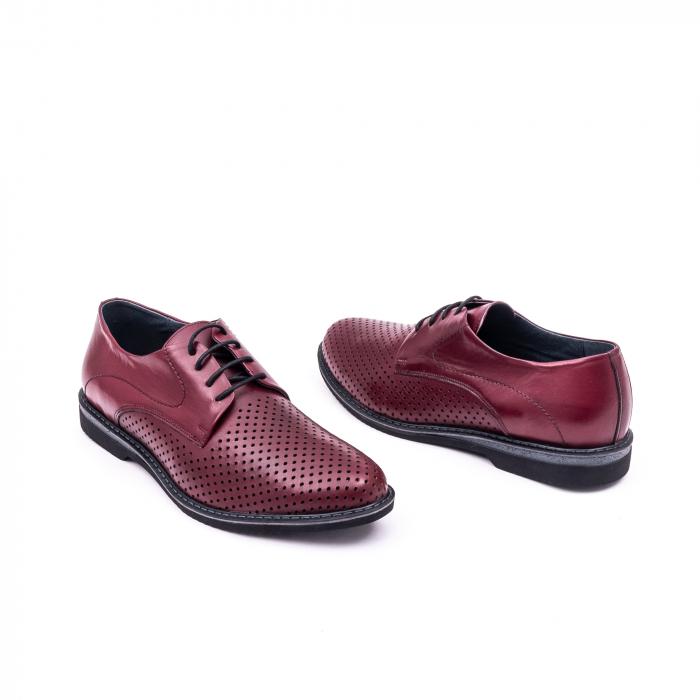 Pantof casual barbat 181591 bordo 3