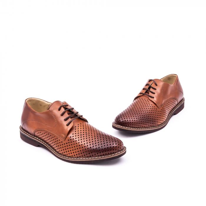 Pantof casual barbat 181591 coniac 1
