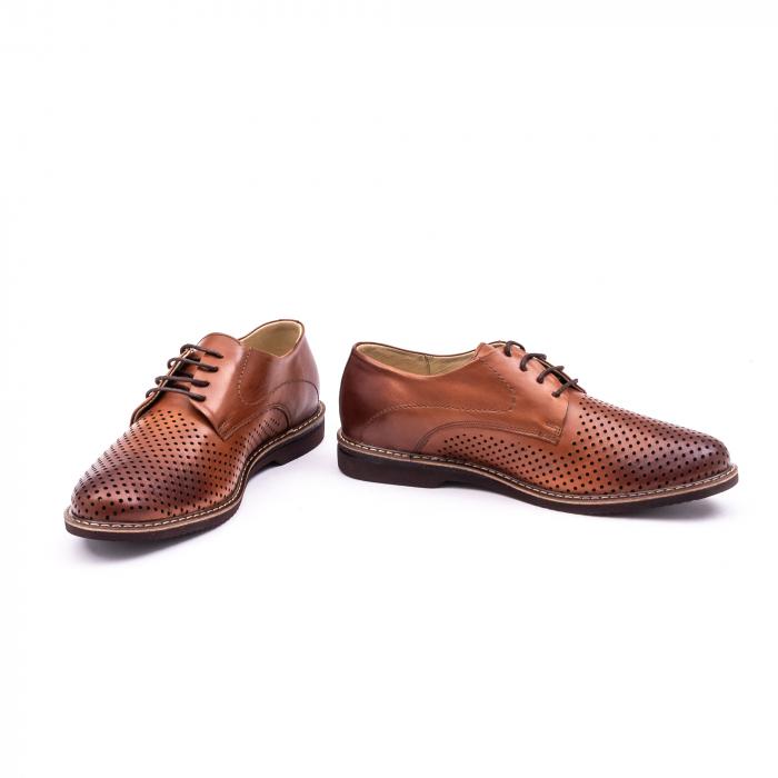 Pantof casual barbat 181591 coniac 4