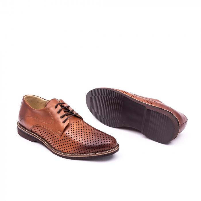 Pantof casual barbat 181591 coniac 2