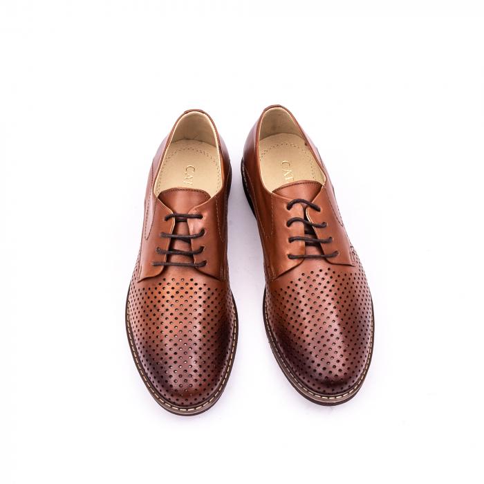 Pantof casual barbat 181591 coniac 5