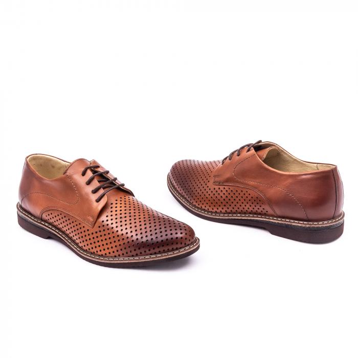 Pantof casual barbat 181591 coniac 3