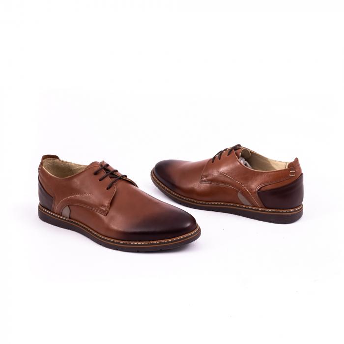 Pantof casual barbat 191523 coniac 3