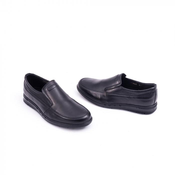 Pantof casual barbat 191525CR negru 1