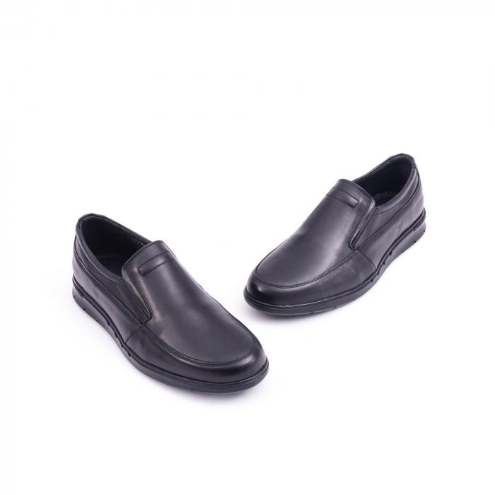 Pantof casual barbat 191525CR negru 2