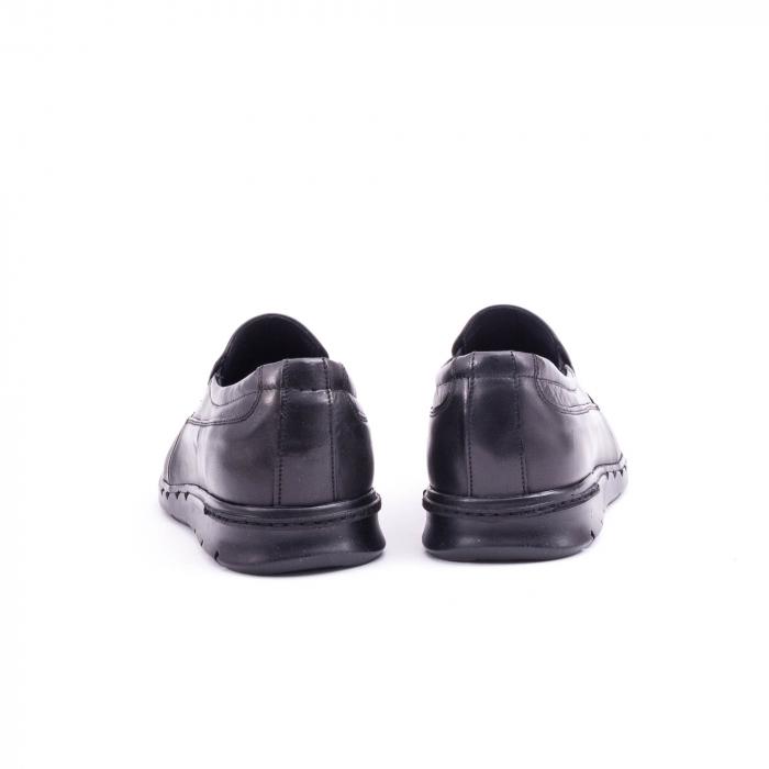 Pantof casual barbat 191525CR negru 6
