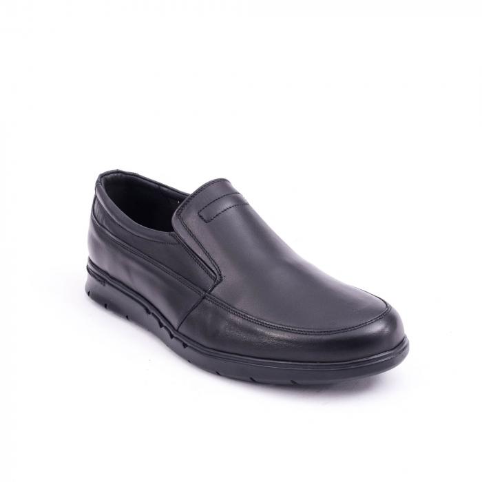 Pantof casual barbat 191525CR negru 0