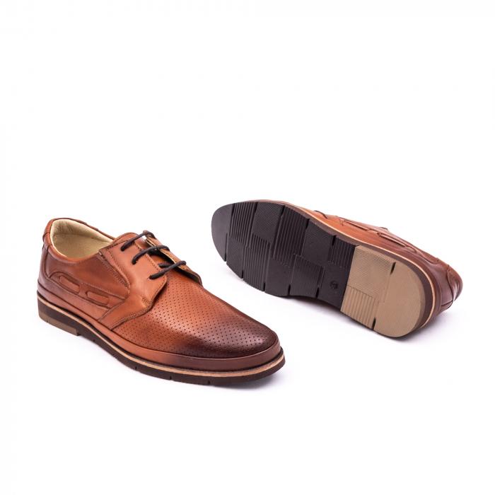 Pantof casual barbat 191536 coniac 2