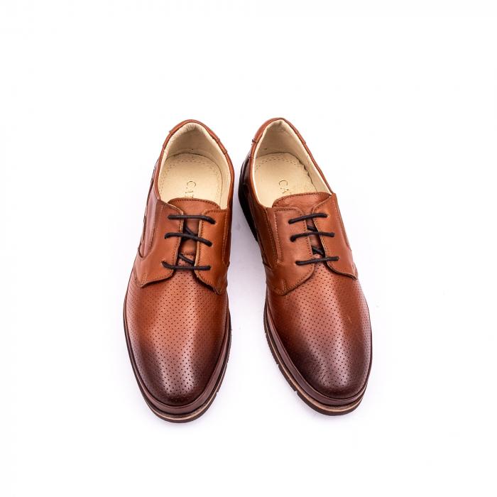 Pantof casual barbat 191536 coniac 4