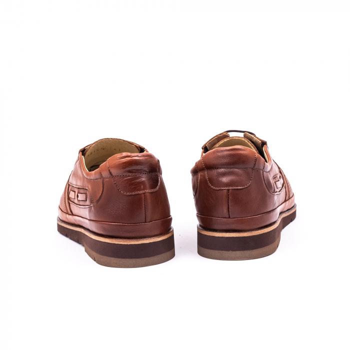 Pantof casual barbat 191536 coniac 5